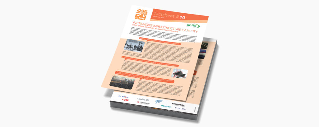 10. Increasing infrastructure capacity – How ERTMS improves railway performance