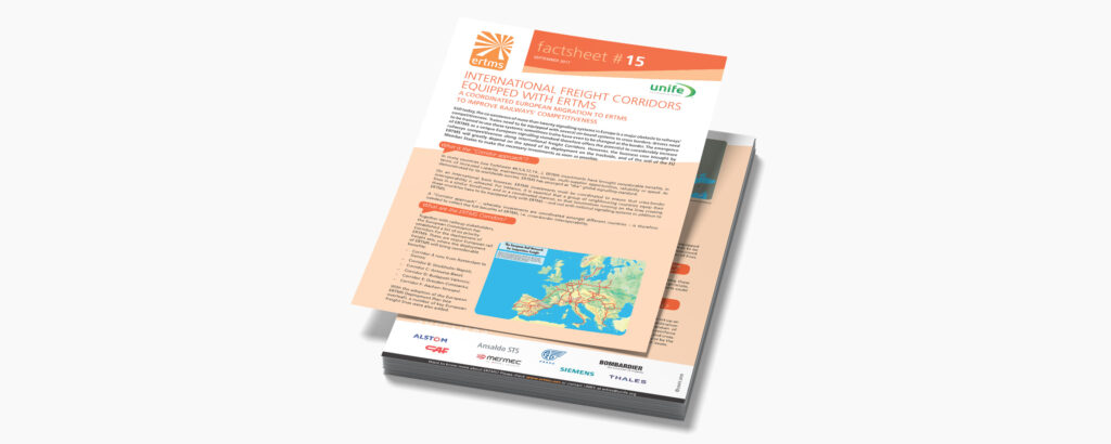 16. International freight corridors equipped with ERTMS