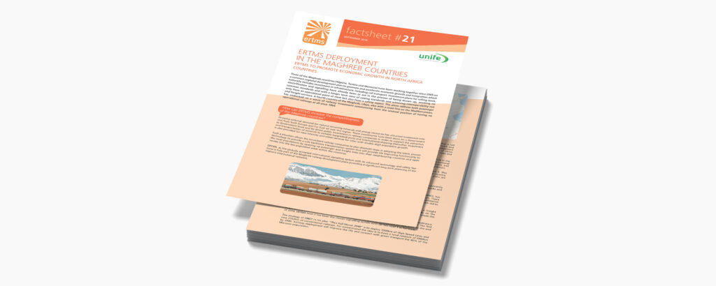 22. ERTMS deployment in the Maghreb countries